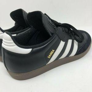 Adidas Samba Classic Black Athletic Indoor Shoes 8